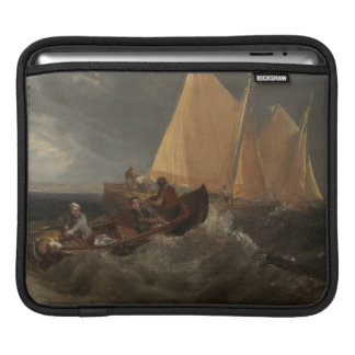 The Junction of the Thames and the Medway, 1807 iPad Sleeve