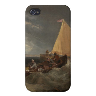 The Junction of the Thames and the Medway, 1807 iPhone 4 Case