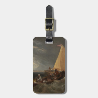 The Junction of the Thames and the Medway, 1807 Luggage Tag