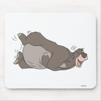 The Jungle Book Baloo laughing on the ground Mouse Mat