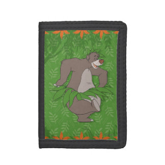 The Jungle Book Baloo with Grass Skirt Tri-fold Wallets