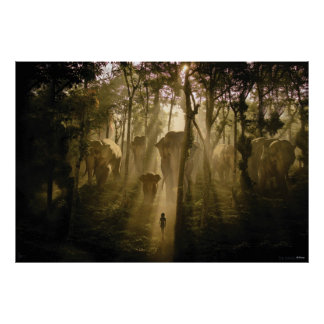 The Jungle Book Elephants Poster