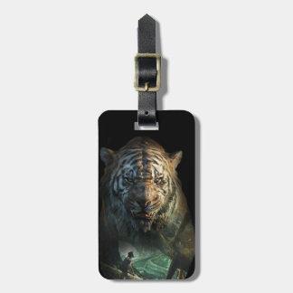 The Jungle Book | Shere Khan & Mowgli Luggage Tag