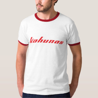 The Kahunas T - Grey/Red Logo T-Shirt