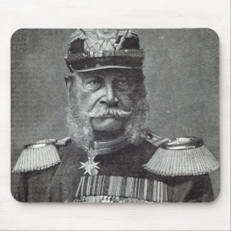 The Kaiser Wilhelm, from 'Leisure Hour', 1888 Mouse Mat