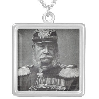 The Kaiser Wilhelm, from 'Leisure Hour', 1888 Silver Plated Necklace