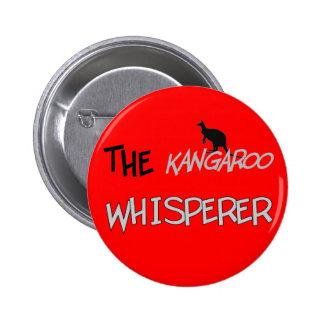 The Kangaroo Whisperer T-Shirts and Gifts 6 Cm Round Badge