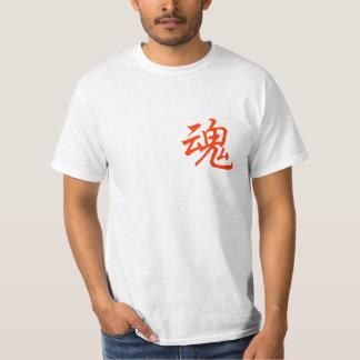 "The Kanji Tshirt (means ""soul"")"