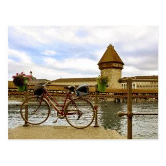 The Kapellbrücke Postcard