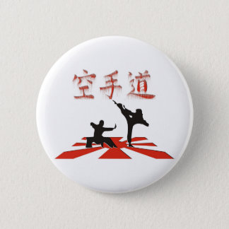 The Karate Perspective 6 Cm Round Badge