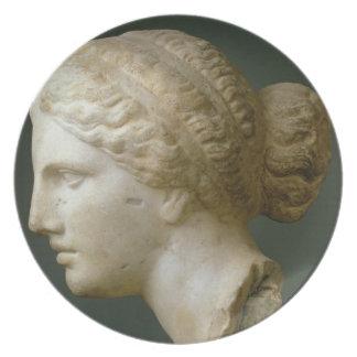The Kauffmann Head, Roman (marble) Plate