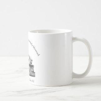 The Keeler family home Basic White Mug