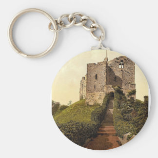 The Keep Arundel Castle England vintage Photochr Key Chains