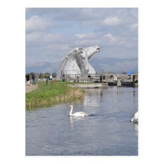the Kelpies , Helix Park , Falkirk Postcard