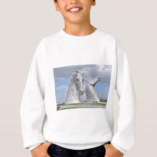 the Kelpies ,  Helix Park , Falkirk , Scotland Sweatshirt