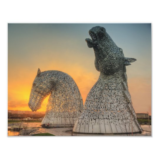 The Kelpies Photo Print
