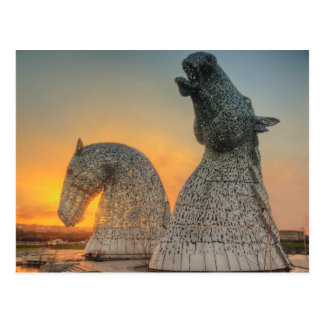 The Kelpies Postcard