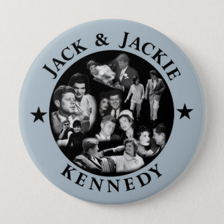 The Kennedys: Jack & Jackie 10 Cm Round Badge