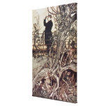 The Kensington Gardens are in London Stretched Canvas Prints