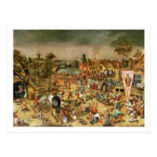 The Kermesse of the Feast of St. George Postcard
