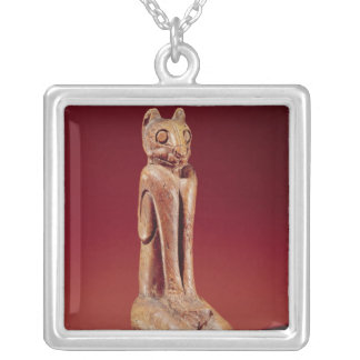 The Key Marco Cat, from Florida Silver Plated Necklace
