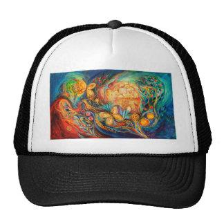 The Key of Jerusalem Mesh Hat