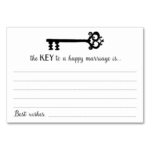 The key to a happy marriage funny