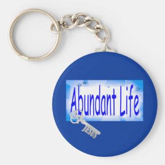 The Key to Abundant Life v2 (John 10:10) Key Ring