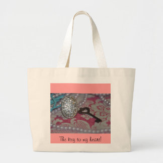 The Key to My heart products Tote Bag