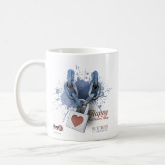 The Key To Unlock Me Valentine's Mug