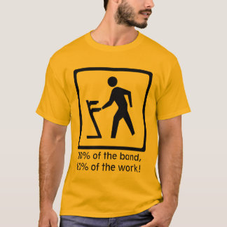 The Keyboard Player T-Shirt