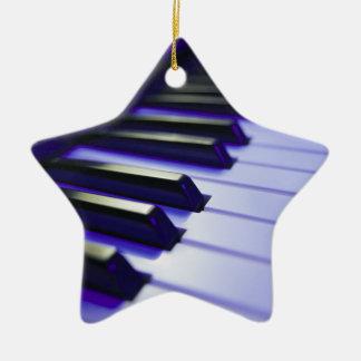 The Keyboard's Keys Christmas Ornament