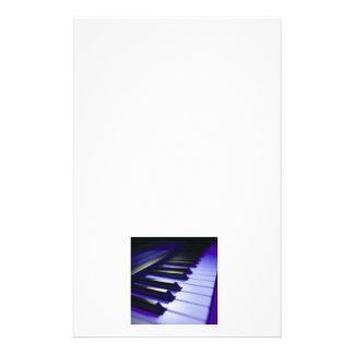 The Keyboard's Keys Customized Stationery