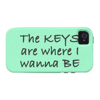 The Keys Are Where I Wanna Be iPhone 4/4S Cover