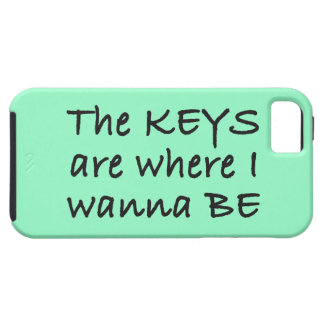 The Keys Are Where I Wanna Be Case For The iPhone 5