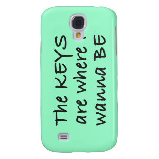 The Keys are Where I Wanna Be iPhone 3 Case