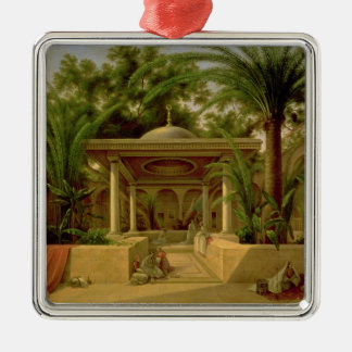 The Khabanija Fountain, Cairo, 1845 Christmas Ornament
