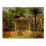 The Khabanija Fountain, Cairo, 1845 Postcard