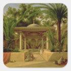 The Khabanija Fountain, Cairo, 1845 Square Sticker