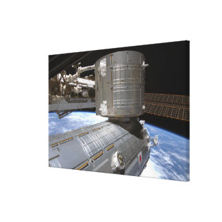 The Kibo Japanese Pressurized Module 2 Canvas Print