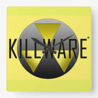 The KillWare® Chronicles Square Wall Clock
