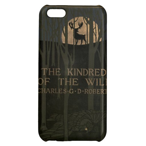 The kindred of the wild a book of animal life 1902 cover for iPhone 5C