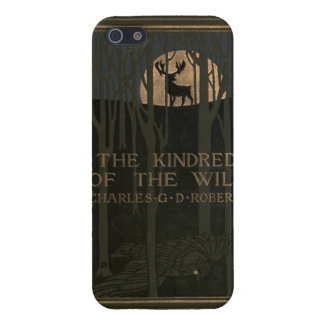 The kindred of the wild a book of animal life 1902 iPhone 5/5S cover