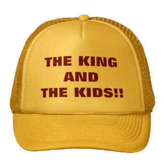 THE KING AND THE KIDS!! MESH HATS