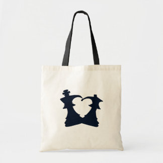 The king and the queen are in love tote bag