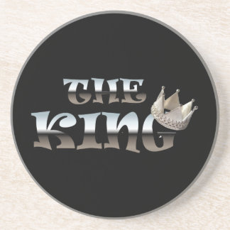 The King Fathers Day Gift Coaster
