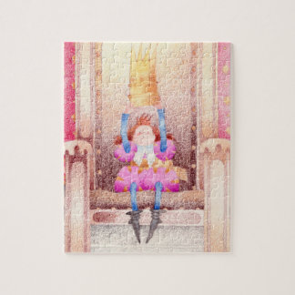 The King, in the throne Jigsaw Puzzle