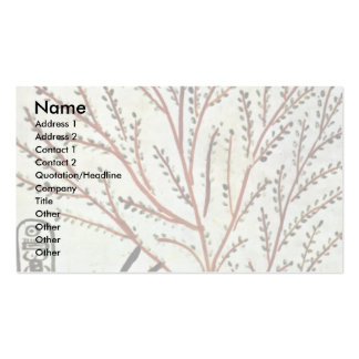 The King Is Fed From The Holy Tree (Lady Of The Sy Double-Sided Standard Business Cards (Pack Of 100)