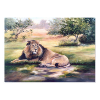 The King Lion ArtCard Business Card