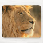 The king of Africa animals, LION face Mouse Mat